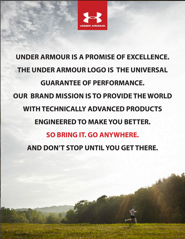 Under Armour M's Branding
